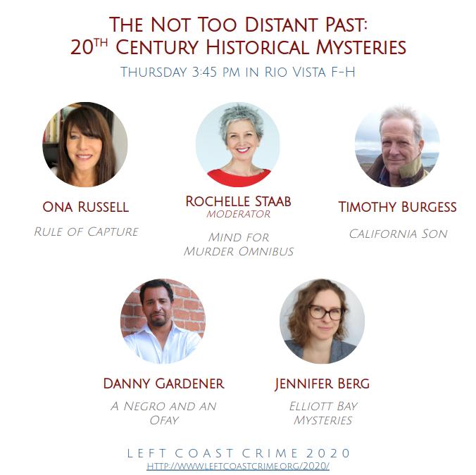 Mystery Writers Panel Left Coast Crime 2020